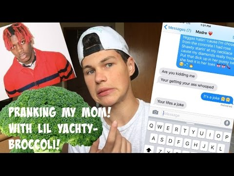 PRANKING MY MOM WITH