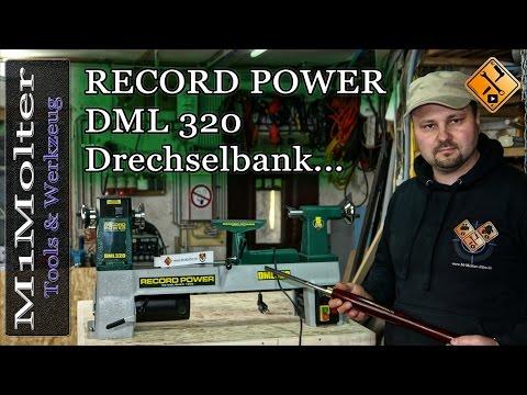 Drechselbank mit Vario Steuerung DML 320 von Record Power / Meine neue Drechselbank.
