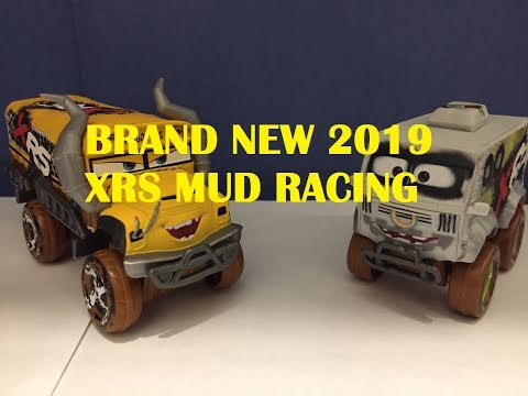 BRAND NEW Mattel Pixar Cars 2019 XRS Mud Racing Miss Fritter And Arvy