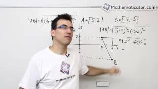 Analytická geometrie 4 - Vzdálenost dvou bodů v rovině - Procvičení
