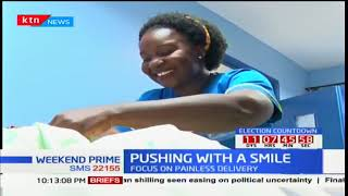 Health Digest: Pushing with a smile