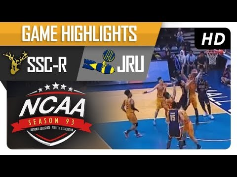 JRU vs SSC-R | NCAA 93 | MB | Game Highlights | October 27, 2017