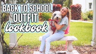 Back To School Outfit Lookbook// What To Wear To School!