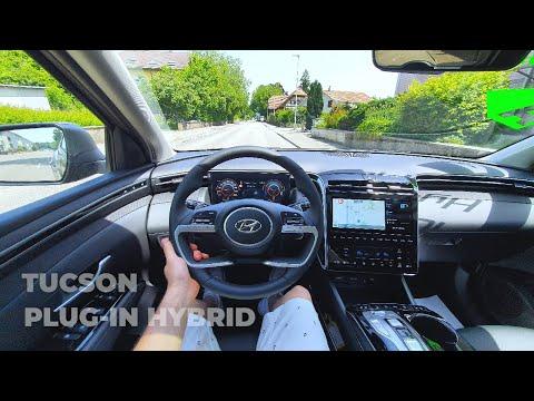 New Hyundai Tucson Plug-in Hybrid 2021 Test Drive Review POV