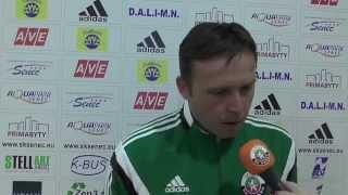 preview picture of video 'ŠK Senec 0 - 2 MFK Zemplín Michalovce - rozhovory'