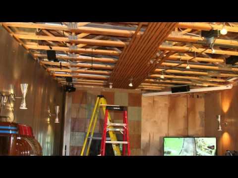 Wood Ceiling Installation