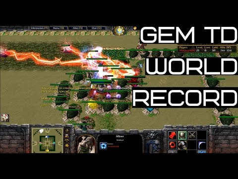 Gem TD (Wc3) Speedrun 29:46 *Current World Record*
