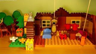Máša a medvěd - Příjezd Máši na prázdniny, Masha and the Bear