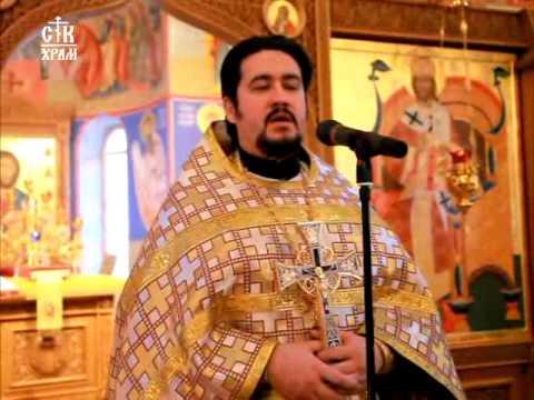 Неделя 29-ая по Пятидесятнице.Проповедь в день памяти Святителя Николая.