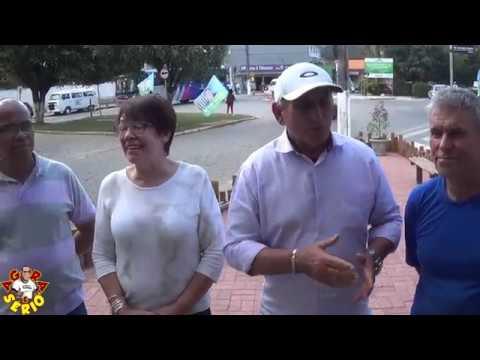 Prefeito Ayres Scorsatto em Parceria com os Comerciantes no Projeto Adote um Espaço Público