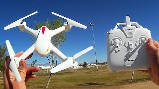 Eachine E708 Bugs2 Clone Drone Flight Test Review