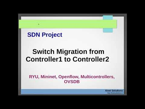 Switch Migration from one controller to other controller