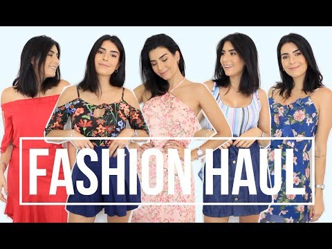 FASHION HAUL: Muitos looks lindos ♥