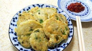 高鈣豆腐煎魚餅 / 一個保鮮袋搞掂 / 又好玩又好食 / 又有營養 / 細妹主理 Pan Fried Tofu Fish Pancake 【20無限】