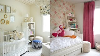 Interior Design — How To Design A Little Girl's Dream Bedroom & Nursery