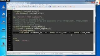 PHP and MYSQLi fetch object