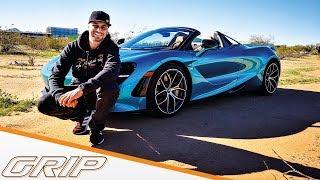 JP Kraemer checkt das schnellste Cabrio der Welt! I McLaren 720 S Spider I GRIP