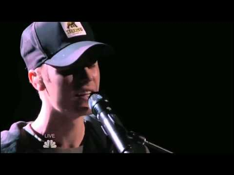Justin Bieber - Sorry (piano version) live @ The Voice USA   December 2015.