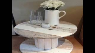 26 Recycled Cable Spool Furniture Part 1