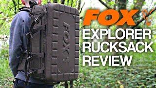 Fox Explorer Rucksack/Barrow Bag | Carp Signal Review