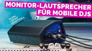 Monitor Lautsprecher Flat M100 von IMG Stageline   dj speaker