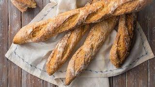 Crusty French Baguette Recipe
