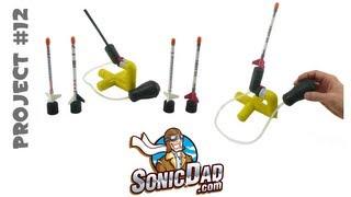 Mini Stomp Rocket - SonicDad Project #12