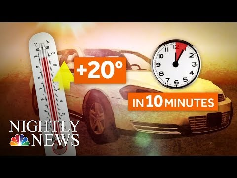 Hot Car Deaths Up As Extreme Heat Sweeps Country | NBC Nightly News