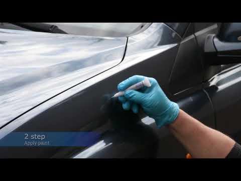 Krāsu korektors skrāpējumu korekcijai CHRYSLER PR4 - ROJO FLAMA 12 ml cena un informācija | Auto krāsas | 220.lv