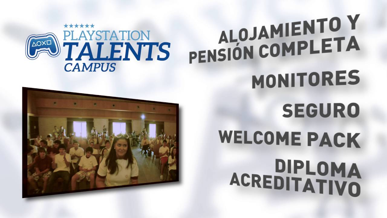 Consigue tu plaza para PlayStation Talents Campus