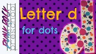 Letter D For Dots | Fun Preschool Crafts For Kids | Best Preschool Activities For Kids