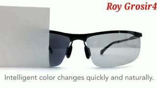 Promo kacamata pria l wanita l sport l siang l malam photocromic polarized UV 400 Sunglasses
