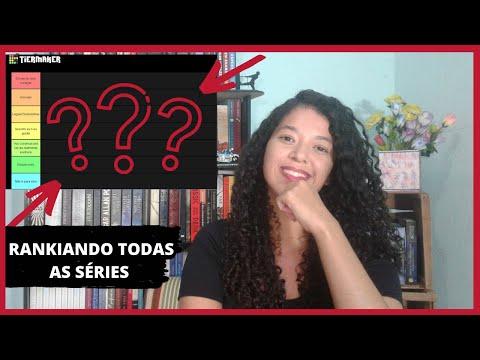 RANKING: Todas as SÉRIES de LIVROS que já li   Andy Vieira