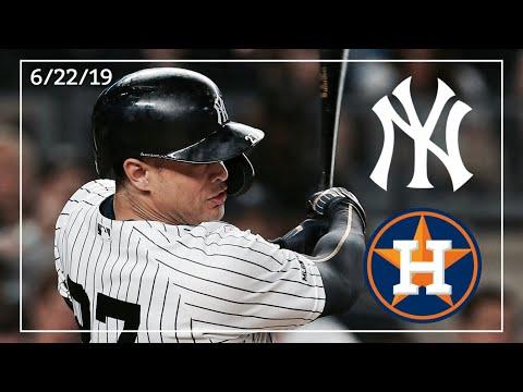 Houston Astros @ New York Yankees | Game Highlights | 6/22/19