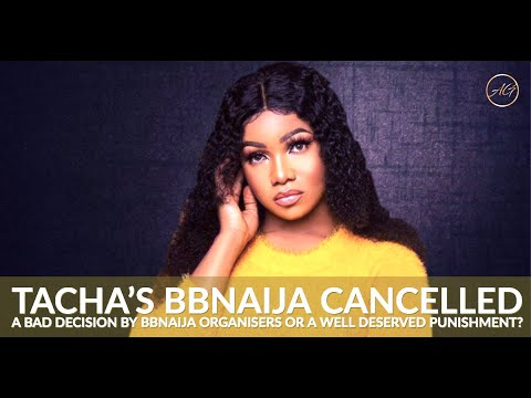 Tacha Disqualified from BBNaija & What This Could Mean For Her Career