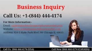 Aol Mail Customer Service Phone Number  +1-844-444-4174