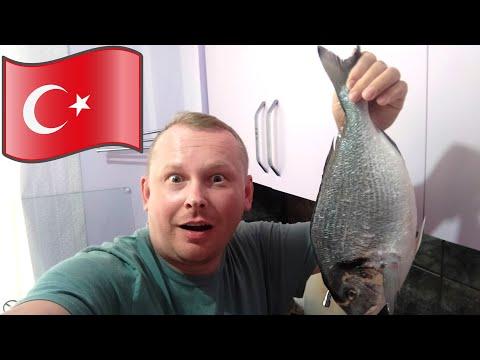 #8.Дорадо на ужин, или как я сходил на Рыбный рынок в Аланье 🐠 Цены на рыбу и морепродукты в Алании