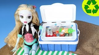 How to Make a Doll Cooler (With Voice) - simplekidscrafts - simplekidscrafts