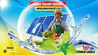 MAZOT MALİYETİNE SON, Güneş Paneli Ile Çalışan Güneş Enerjili Tarımsal Sulama Sistemleri