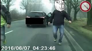 Vybrždění od rodiny s dítětem v autě [Reupload]