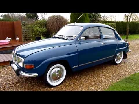 1973 SAAB 96 V4 Classic Car Video