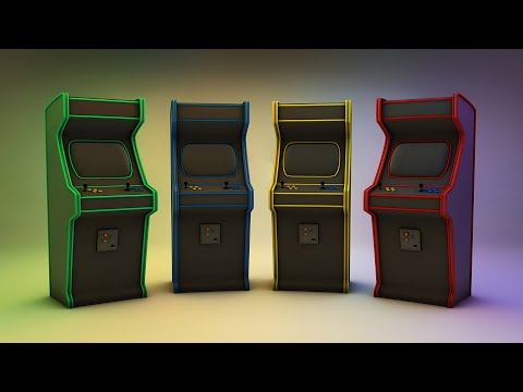 Arcade1Up Centipede Cabinet Closer Look - смотреть онлайн на