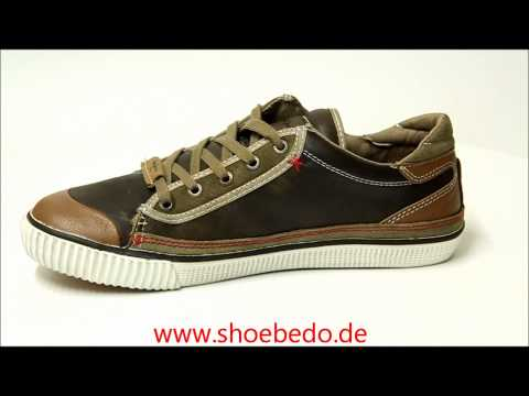 Pepe Jeans Sneaker IN-242 A Khaki-Taupe Man Lace-Up