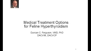 Medical Treatment of Hyperthyroidism