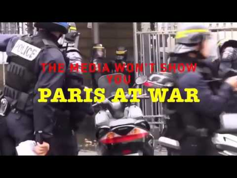 Paris Immigrants Riot