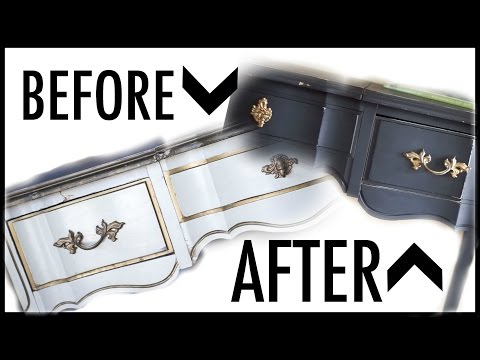 DIY Entry Table Makeover (How To Use Chalk Paint On Furniture) Mp3