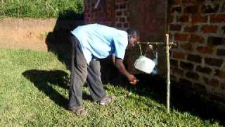 preview picture of video 'Tippy Tap Latrine Hygiene'