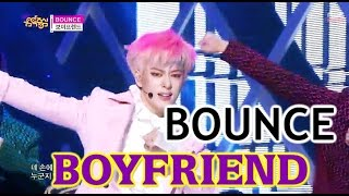 [HOT] BOYFRIEND - BOUNCE, 보이프렌드 - 바운스, Show Music core 20150314