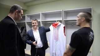 За кулисами про-дебюта Александра Усика / Usyk pro-debut backstage