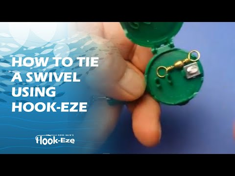 How to tie a swivel using Hook-Eze